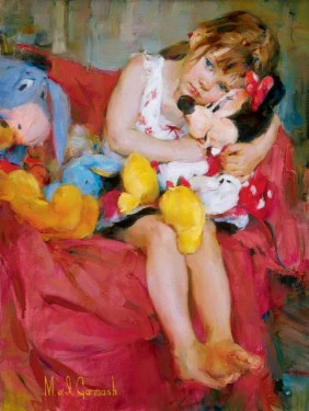 Michael and Inessa Garmash - Hugs for Minnie