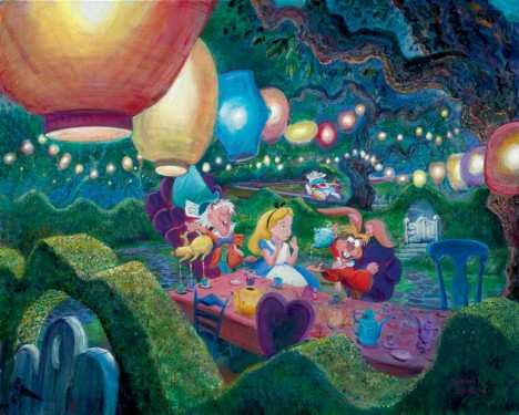 Disney Harrison Ellenshaw Art