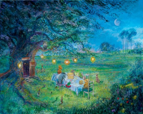 Harrison Ellenshaw - Poohs 80th Garden Party