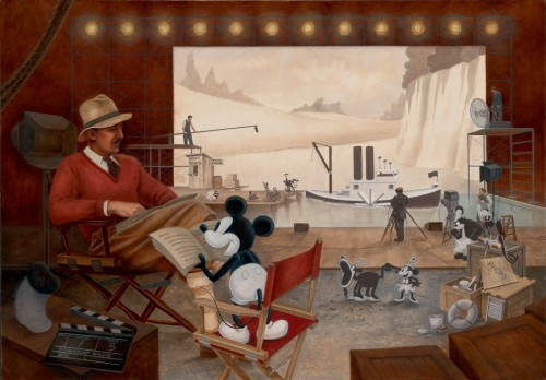 Disney Mike Kupka Art