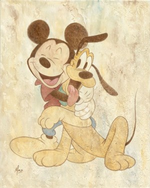 Mike Kupka - Mickey and Pluto