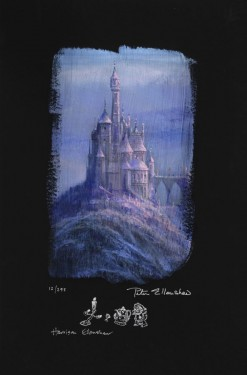 Peter and Harrison Ellenshaw - Beauty and The Beast Castle dlx