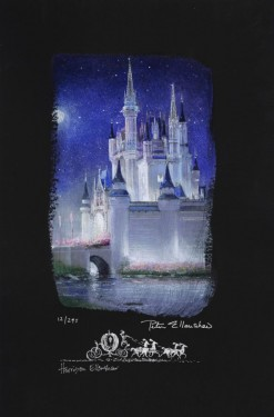 Peter and Harrison Ellenshaw - Cinderella Castle