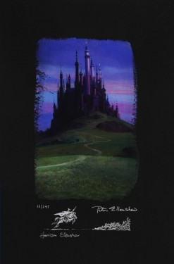 Peter and Harrison Ellenshaw - Sleeping Beauty Castle