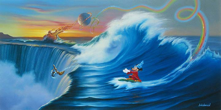 Jim Warren - Mickey Rides the Wild Surf