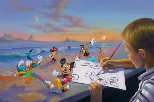 Disney Tim Rogerson Art