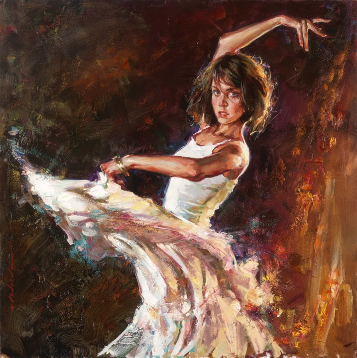 Dynamic Connection limited edition print - Andrew Atroshenko