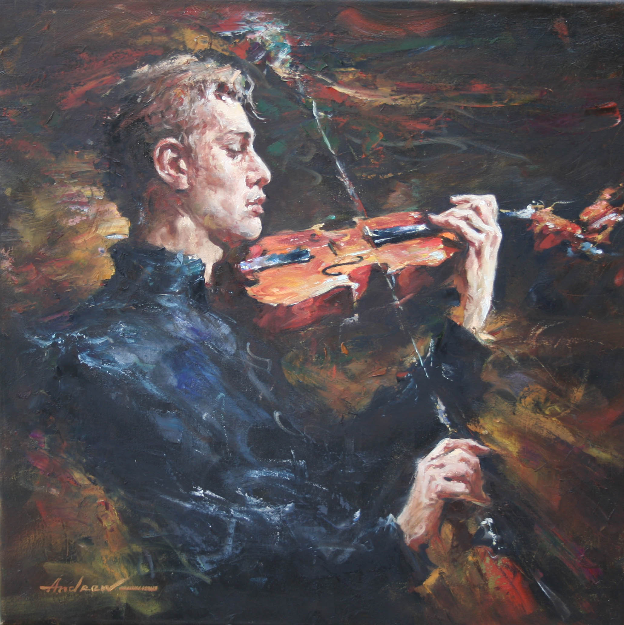 Andrew Atroshenko - Classical Expressions - Oil on Canvas Original Painting