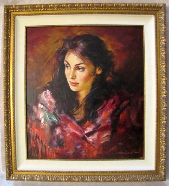 Andre Atroshenko - Isabelle - Original Painting on Canvas