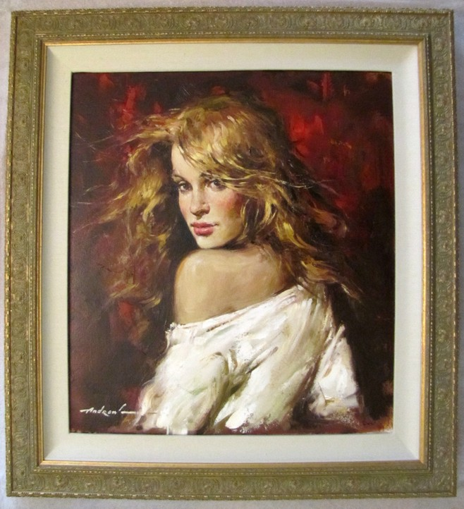 Andre Atroshenko - Sultry - Original Painting on Canvas