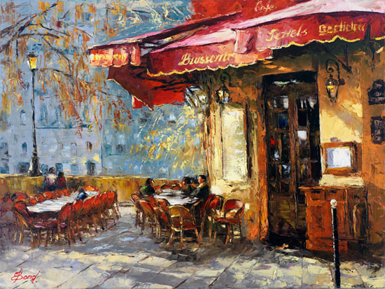 Elena Bond - Quiet Cafe