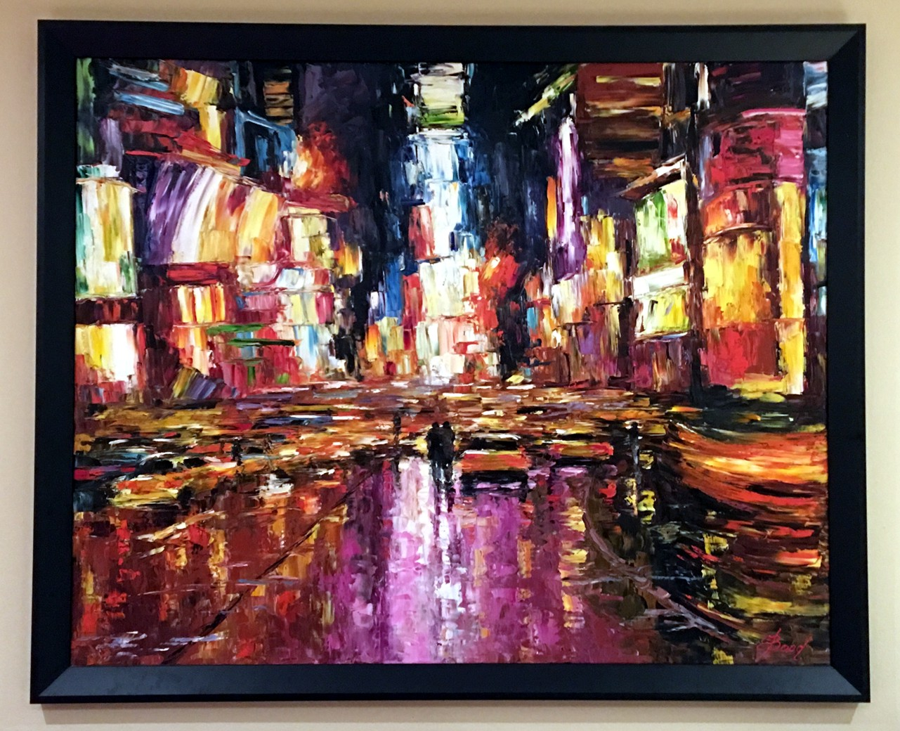 Elena Bond - ROMANCING NEW YORK - Limited Edition on Canvas