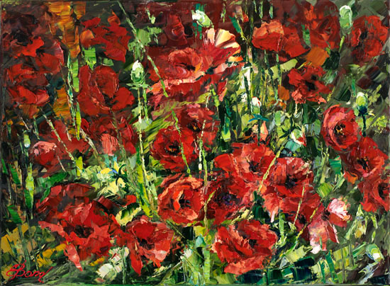 Elena Bond - Wild Poppies