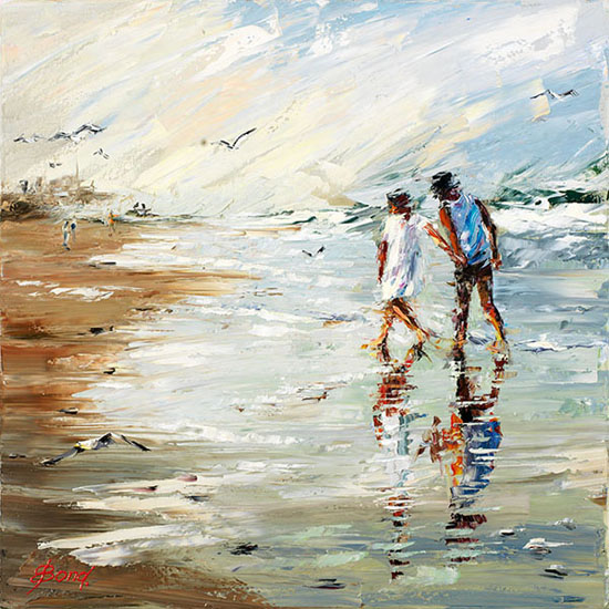 Elena Bond - The beach at Sandy Point