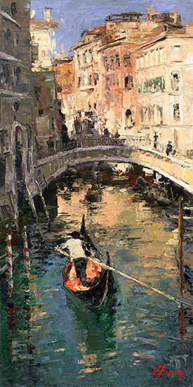 Elena Bond - The Lone Gondolier
