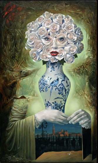 Michael Cheval - PROPOSAL II - Oil on Canvas