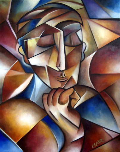 Stephanie Clair - Man Thinking