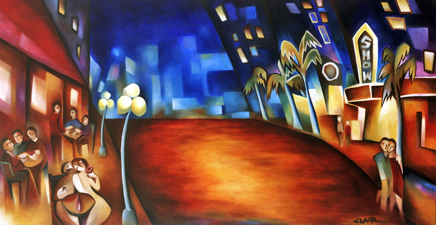 Stephanie Clair - Paint the Town