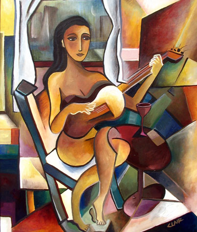 Stephanie Clair - She Only Plays Guitar When It Rains