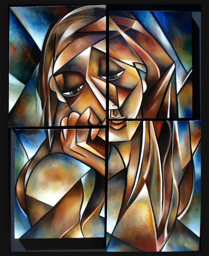 Stephanie Clair - Soul Gaze Mosaic