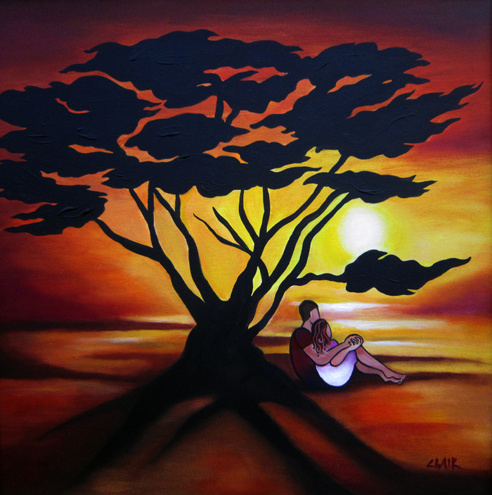 Stephanie Clair - Sunset Silhuette