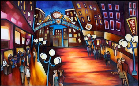 Stephanie Clair - Welcome to the Gaslamp - San Diego