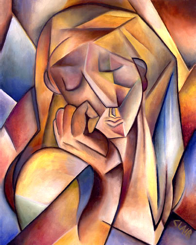 Stephanie Clair - Woman Thinking