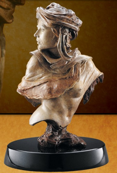 Martin Eichinger - Adrenaline Rising Bust - Bronze Sculpture - Signed & Numbered