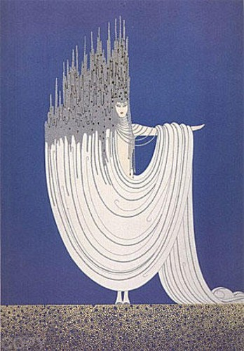 Erte' - The Arctic Sea serigraph