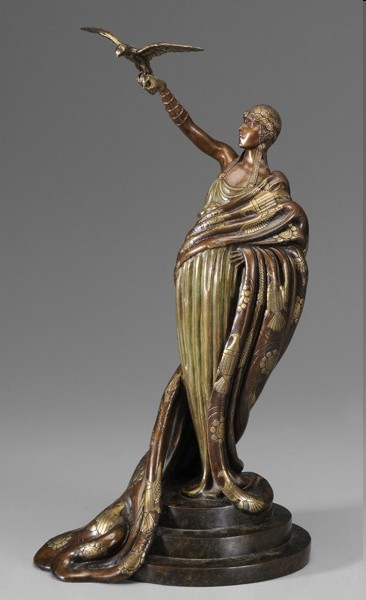 Erte - Victoire - Bronze Sculpture - Signed & Numbered