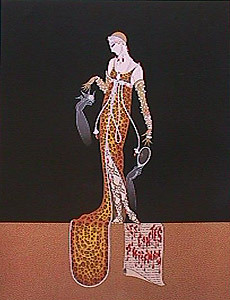 GIULIETTA - Fine Art by Erte