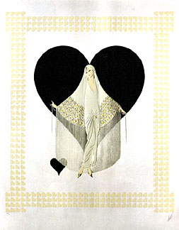 JUNE BRIDES _ FRINGE - Fine Art by Erte