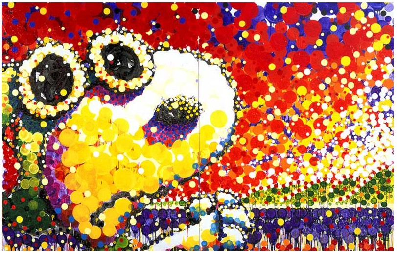 Tom Everhart - Attack Of The Conference Call - 84x128 - Original Painting
