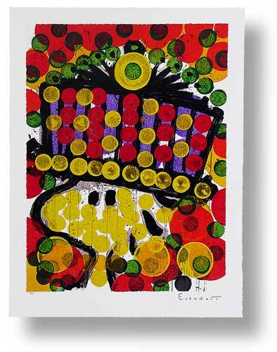 Tom Everhart - Bird of Paradise - Limited Edition print