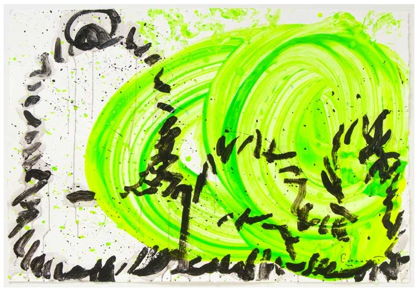 Tom Everhart - Blow Dry 4 - Original Painting