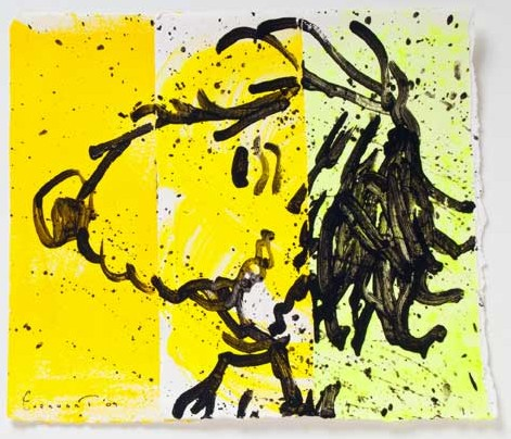 Tom Everhart - Blow Dry 3 - Original Painting