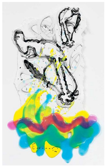 Tom Everhart - Flipped Out 74 - 22x14 - Original Painting