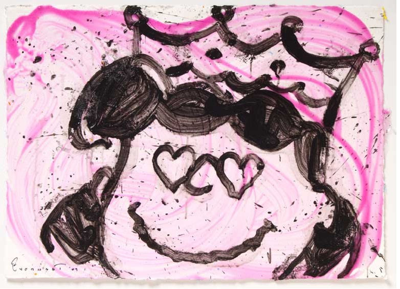 Tom Everhart - Love Is A Drug No 19 - Original Painting