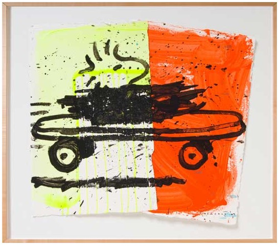 Tom Everhart - A RAD CAR 1 - Original Painting