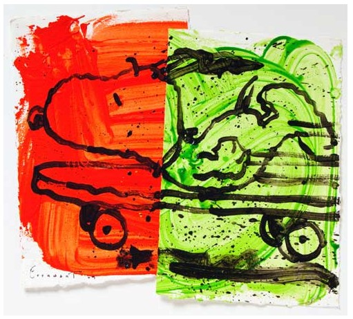 Tom Everhart - A RAD CAR 11 - Original Painting