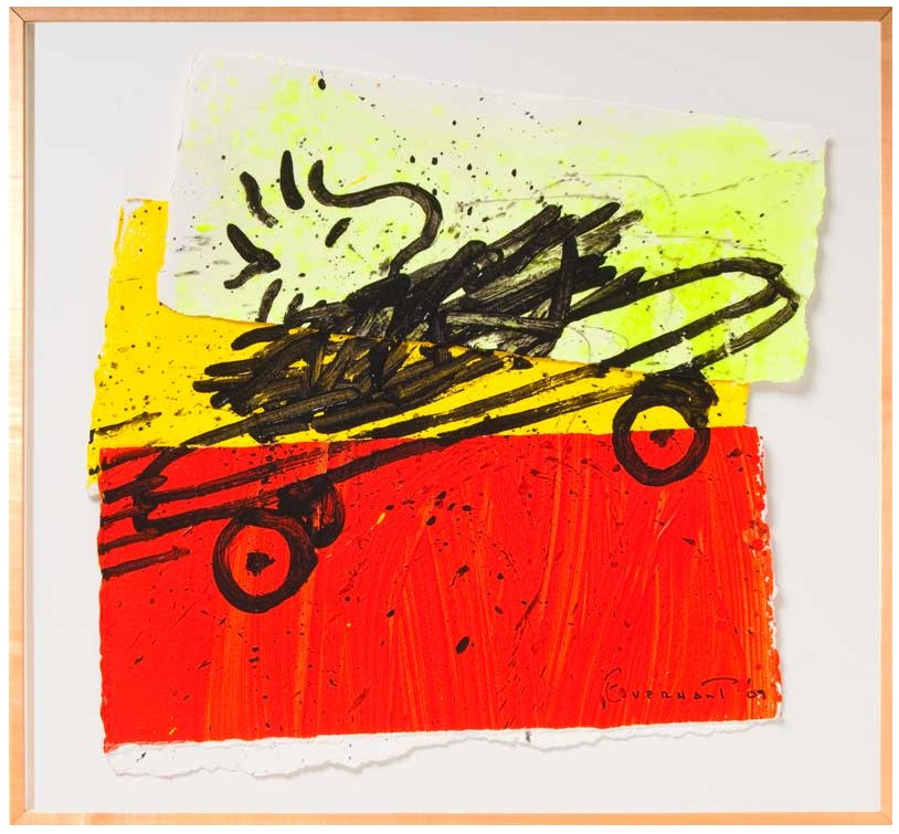 Tom Everhart - A RAD CAR 4 - Original Painting