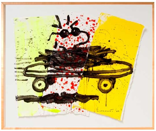 Tom Everhart - A RAD CAR 8 - Original Painting