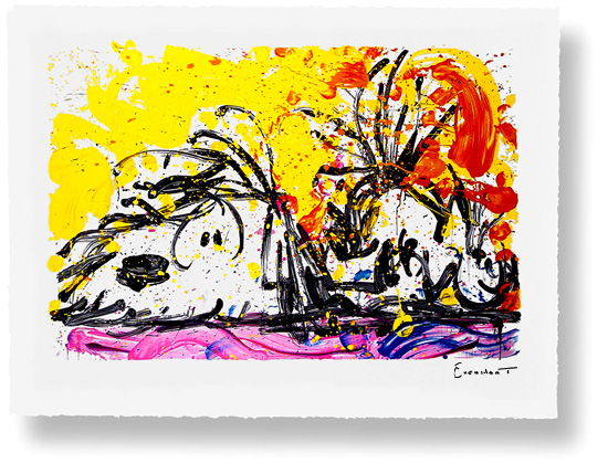 Tom Everhart - Blow Dry - Limited Edition print