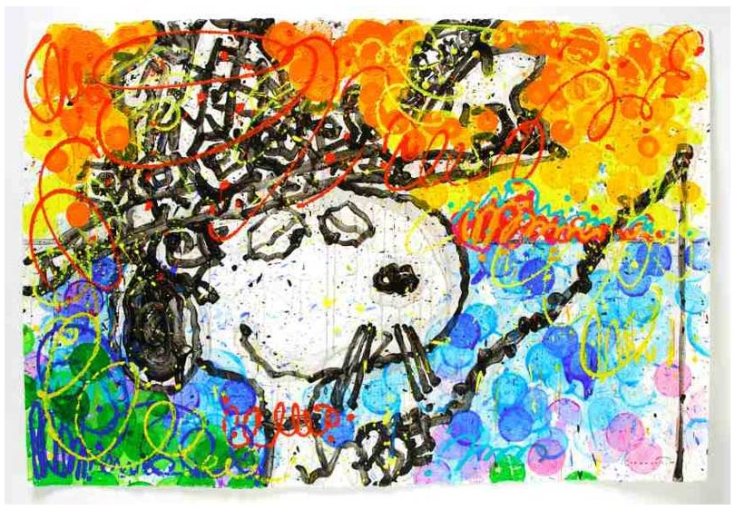 Tom Everhart - Boom Shaka Laka Laka 18 - Original Painting