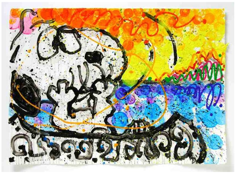 Tom Everhart - Boom Shaka Laka Laka 23 - Original Painting