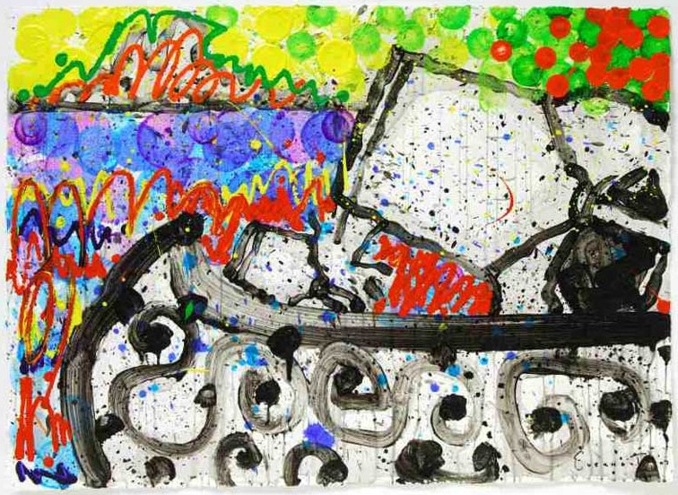 Tom Everhart - Boom Shaka Laka Laka 32 - Original Painting