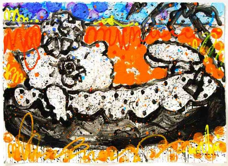 Tom Everhart - Boom Shaka Laka Laka 42 - Original Painting