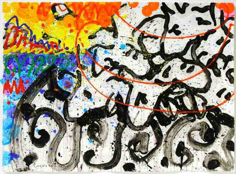 Tom Everhart - Boom Shaka Laka Laka 43 - Original Painting