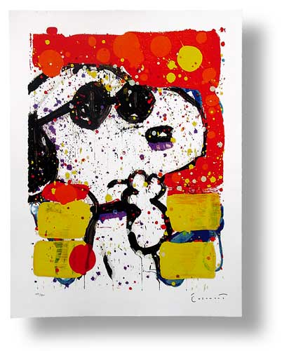 Tom Everhart - COOL AND INTELLIGENT - Limited Edition print