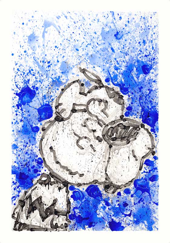 Tom Everhart - Hipster Dog Dreams - Homie Dreams Suite - Limited Edition print
